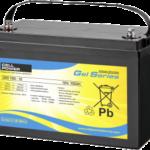 Batería para autocaravana pbq gel