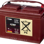 Baterías para buggys de plomo abierto (TROJAN)