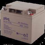 Baterías náuticas pbq gel 12V (33Ah-40Ah)