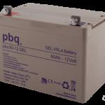 Batería para energía solar pbq gel