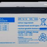 Baterías para barredoras, apiladores y plataformas elevadoras CPC 12V (9Ah-250Ah)