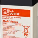 Baterías para alarmas CP 6V